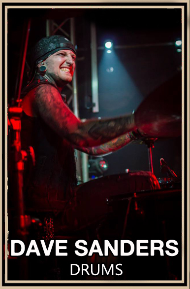 Dave Sanders - Drums and Backing Vocals