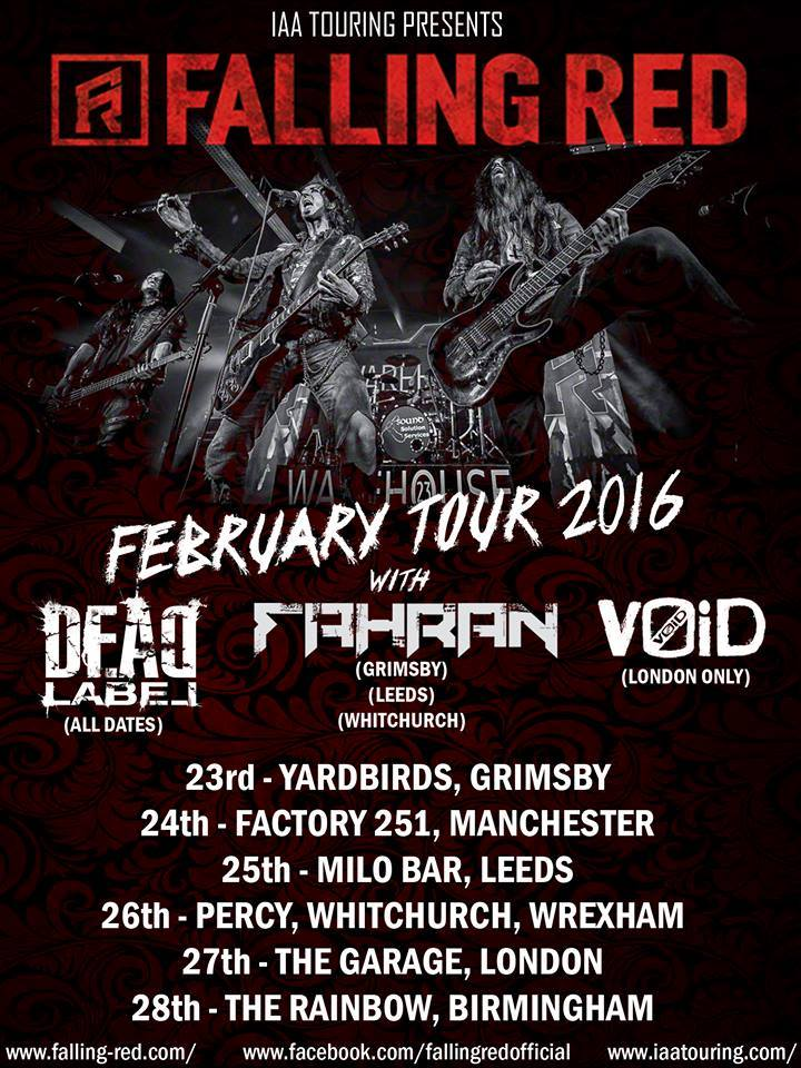 Feb tour update 2016