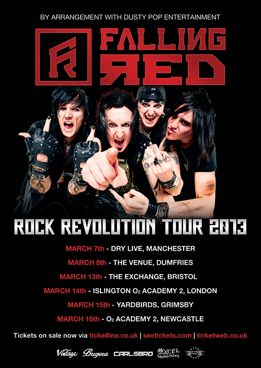 Falling Red - Rock Revolution Tour 2013